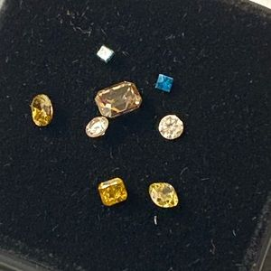 1 Cttw Multifaceted Loose Diamond Lot